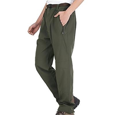 iisport® Wanderhose herren damen lange Trekkinghose wasserdicht straight fit