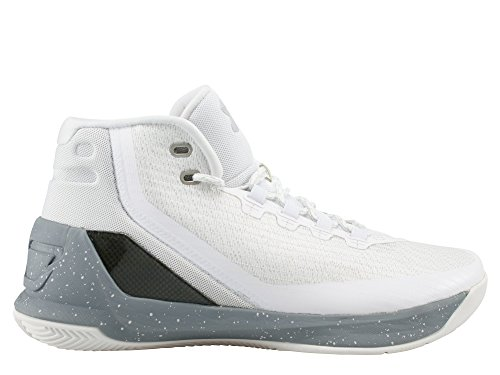 UNDER ARMOUR ua curry 3 UOMO SCARPE BASKET Bianco