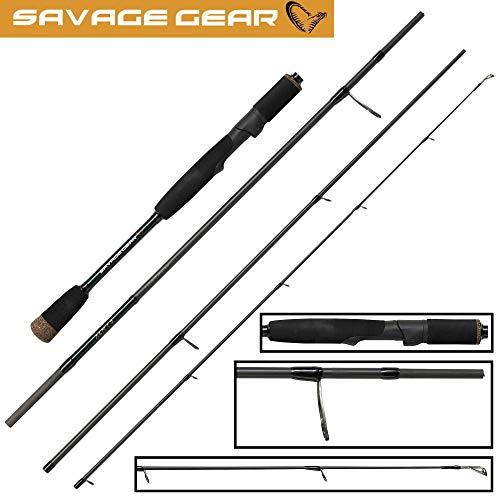Savage Gear Roadrunner XLNT3 2,13m 10-40g - Reise Spinnrute zum Spinnfischen auf Barsche & Zander, Angelrute, Zanderrute