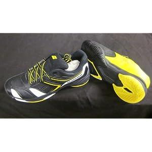 Babolat Drive 3 All Court Junior Tennisschuhe schwarz/weiß/gelb