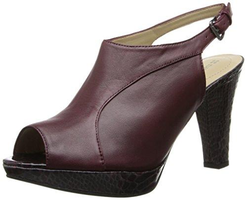 Naturalizer Women's Kallie Platform Pump - Naturalizer Brown Comfort Sandal