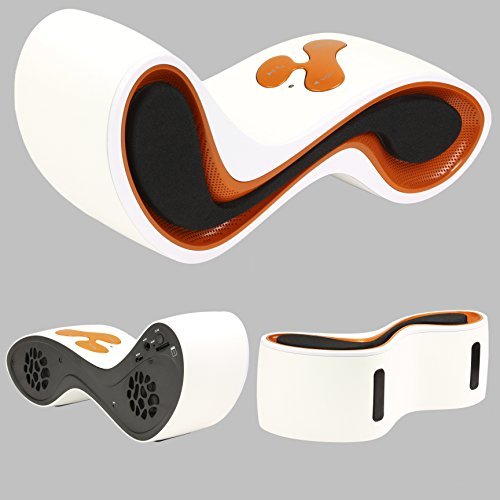 Original Urcover® Designer Bluetooth Lautsprecher Boxen kompatibel mit jedem Bluetooth Gerät für Freizeit Büro & Hause 30 Meter Bluetooth Empfang 90 DB Lautstärke Boxen Wireless Kabellos Orange