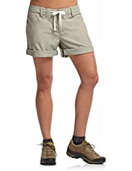 Icebreaker Shorts Destiny - Pantalones cortos para mujer, color Gris, talla S