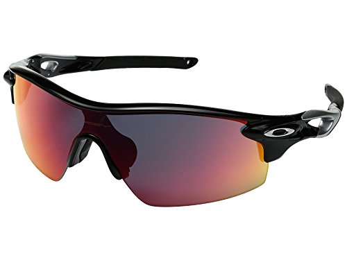 Oakley RADARLOCK PITCH POSITIVE RED Polished Black