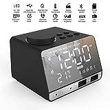 Best Alarm Clock For Heavy Sleepers - Digital Dual Alarm Clock, Wireless BT Loud Music Review