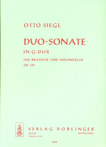 DUO SONATE IN G   VIOLA AND CELLO   SET