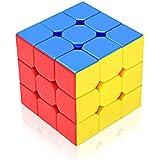 Stickerless 3x3x3 High Speed Magic Rubik Cube Puzzle Toy With Adjustable Tightness