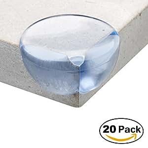 Ata 20 pi ces protege coin de table protections d 39 angles et rebords protection bebe - Coin de table protection bebe ...
