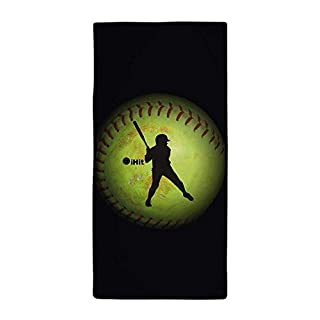mabaoyuhen Ihit Fastpitch Softball (Right Handed) Large Beach Towel, Soft 31