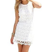 Robe blanche soiree plage
