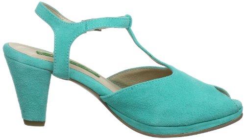 Andrea Conti 0615317, Sandales femme Bleu (Aquamarin 018)