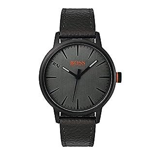 Hugo Boss Orange Mens Analogue Classic Quartz Watch with Leather Strap 1550055 (B075B3QP43) | Amazon price tracker / tracking, Amazon price history charts, Amazon price watches, Amazon price drop alerts