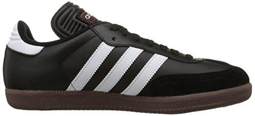 Adidas Mens Samba Classic Leather Trainers Black