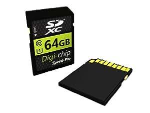 Digi-Chip 64GB CLASS 10 SDXC Memory Card