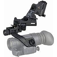 WTZWY Tactical Airsoft NVG Night Vision Tactical Helmet Adaptador de Auriculares J-Arm PVS 14 Mount para Fast M88 Mich Helmet