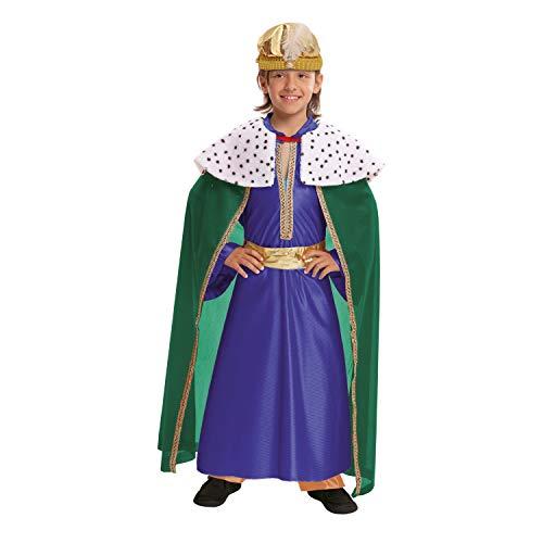 VIVING Costume Re Mago azul5–6anni