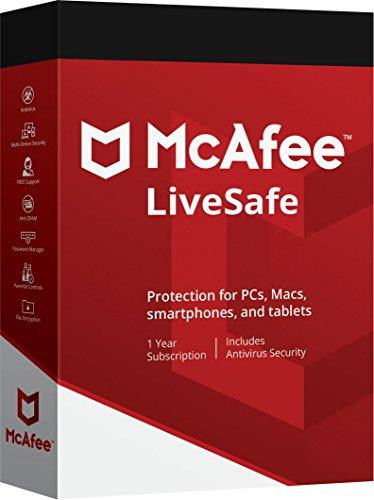 Descarga McAfee LiveSafe 2018 - Unlimited dispositivos - 12 Mes suscripción - todos los Windows, Android, Mac OS X y iOS - leer debajo de las instrucciones