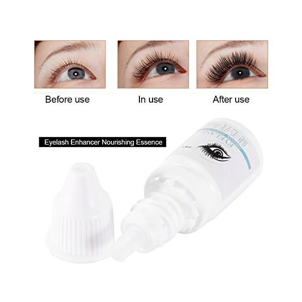 Rizador de pestañas Eyelash Enhancer Esencia nutritiva Crecimiento Serum Esencia más gruesa Más larga