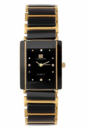 Iik Collection Analogue Black Dial Unisex Watch- IIK-081M