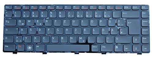 NExpert deutsche QWERTZ Tastatur für Dell XPS L502 L502X Series DE backlit Schwarz (Dell Backlit Tastatur)