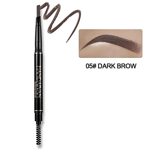 cedarfiny HANDAIYAN Automatic Rotation Eyebrow Pencil Zweiköpfiger wasserdichter Augenbrauenstift