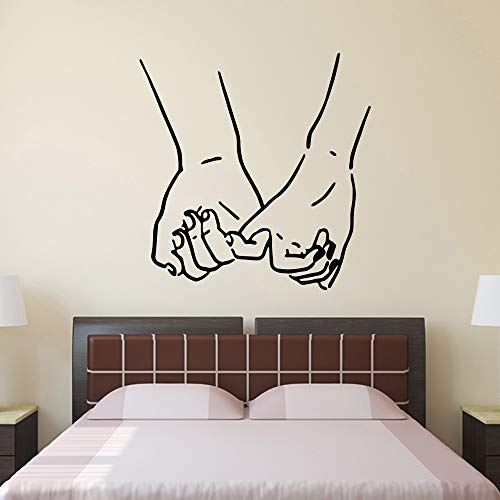 zhuziji New Vinyl Wall Stickers Bedroom Sticker Removable Waterproof Wall Decals Home Decoration Wa 30cm X 30cm