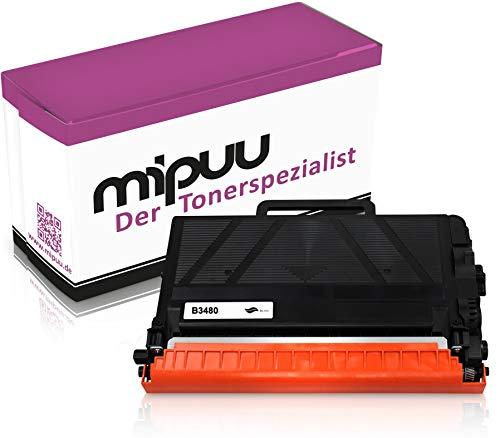 Mipuu Toner compatibile con Brother TN-3480 nero per HL-L5100dn MFC-L5750dw DCP-L5500dn HL-L5200dw HL-L6300dw HL-L6400dw MFC-L5700dn