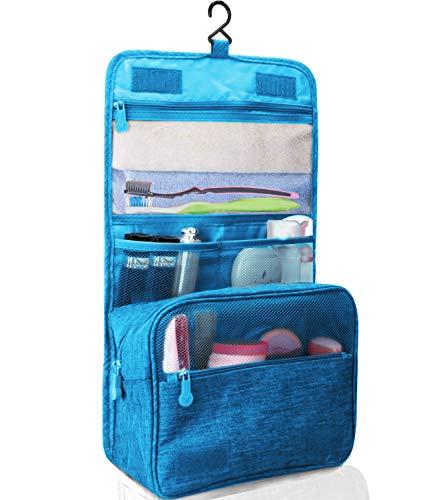Kulturtasche zum Aufhängen Faltbarer Reise Kulturbeutel mit Tragegriff, Waschtasche, Waschbeutel für Herren, Damen