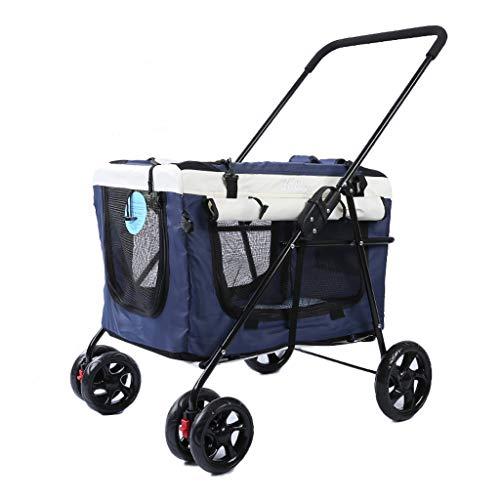 LXJYMX Abnehmbarer Kinderwagen Leicht faltbarer Reise-Kinderwagen (Farbe : B)