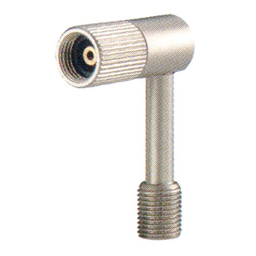Topeak Hochdruck/verbindungsstück Pressure-Rite Schrader Ventiladapter, Silver, One size