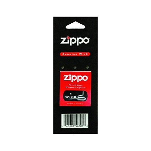 Zippo 1WK  - Accessorio de reemplazo para encendedora (1 mecha de 100 mm)