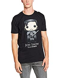 Game of Thrones Funko Jon Snow, T-Shirt Homme