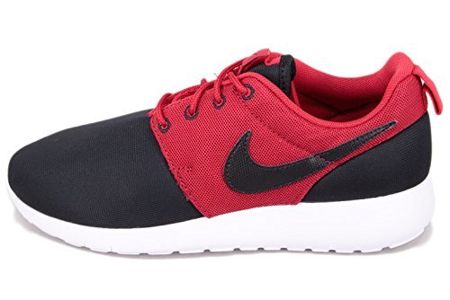 Nike Roshe One (Gs), Chaussures de Running Compétition garçon Negro / Rojo / Blanco (Black / Black-Gym Red-White)