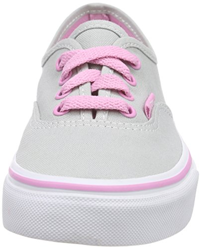 Vans K AUTHENTIC POP Sneaker, Unisex Bambino Grigio (pop High)