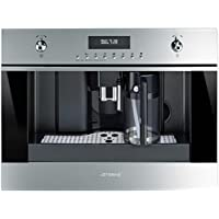 Smeg CMS6451X Combi coffee maker 1.8L Acciaio inossidabile macchina per