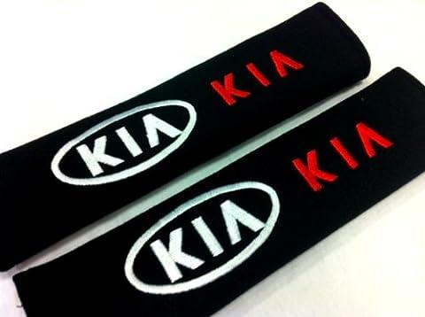 KIA Seat Belt Cover Shoulder Pad Cushion (2 pcs) by Kia