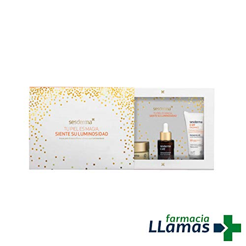 "SESDERMA C-VIT PACK""C-VIT CREMA 50ML + LIPOSOMAL C-VIT SERUM 30ML + C-VIT RADIANCER LECHE CORPORAL 50ML"