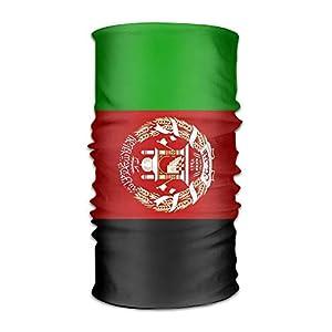 Not afraid Afghan Flag Unisex Outdoor Sport Scarf Headbands Bandana Mask Neck Gaiter Head Wrap Sweatband Headwear