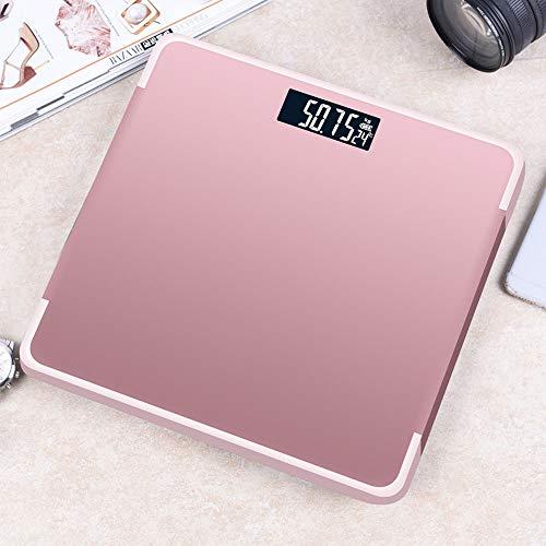 AMY Körper-Renpho-Waage, 180 kg Präzise,   intelligente Personenwaage zur Messung des Körpergewichts (BMI) und der Muskelmasse (BMI),Gold