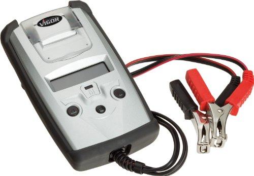 Vigor V1922 Batterietester und Ladesystem Prüfgerät mit Thermodrucker