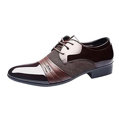 Image indisponible. Image non disponible pour la couleur   GongzhuMM  Chaussures de Ville Homme ... fd3ce32daddf