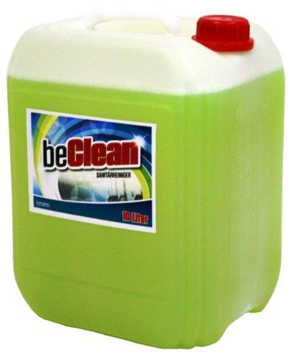 WC und Sanitärreiniger beclean yellow fresh 10 Liter Kanister