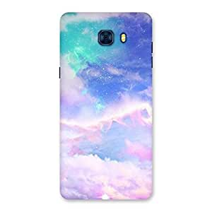 Neo World Sky Background Back Case Cover for Galaxy C7 Pro