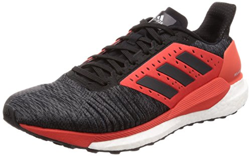 Adidas solar glide st m, scarpe running uomo, grigio (gricin/negbás/roalre 0), 44 eu
