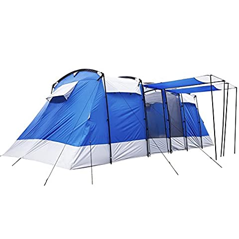 ON Sales! !Peaktop 5000mm Waterproof 6-8 Person 3 Room Berth