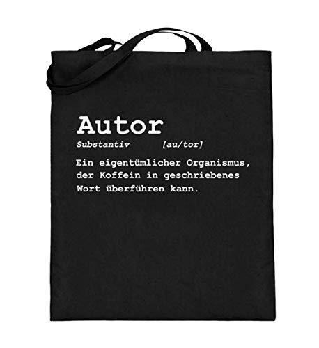 Chorchester Ideal für Autoren, die Kaffee Lieben - Jutebeutel (mit langen Henkeln) (Audio-bücher Von Schwarzen Autoren)