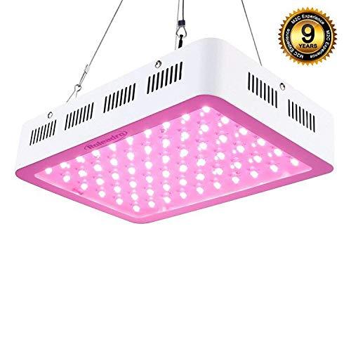 Roleadro LED Pflanzenlampe 300W Pflanzenlicht Vollspektrum LED Grow Light mit IR UV Licht für...