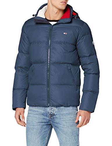 Tommy Hilfiger Herren TJM Essential DOWN Jacket Jacke, Blau (Black Iris Cbk), X-Large (Herstellergröße:XL)