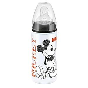 Biberon Nuk MICKEY ou MINNIE 250ML sans BPA