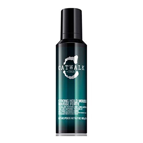Tigi Catwalk Strong Hold Mousse 200 ml Haarschaum für langanhaltende Definition & endlosen Halt 200 ml
